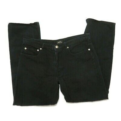 APC New Standard Jeans Black Men 32 x 27