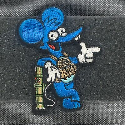 Operator Itchy Morale Patch Tactical Outfitters The Simpsons Krusty Klown