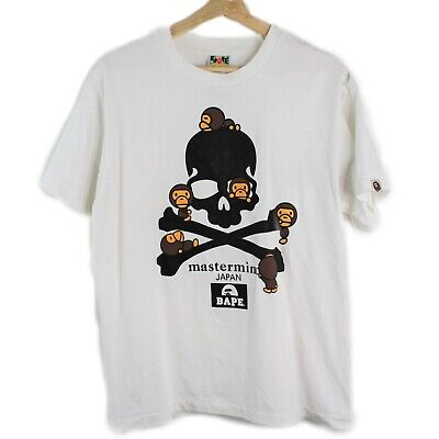 A Bathing Ape Bape Mastermind Japan Collaboration Skull Baby Milo Tee Shirt 2011