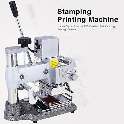 Bn Manual Tipper Stamper Pvc Card Hot Foil Stamping Printing Machine 2 Roll Foil