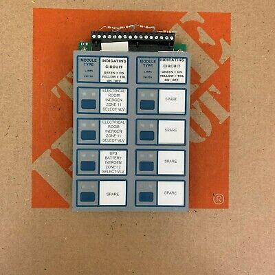 Corbin P 2301 Fire Alarm Notifier Icm-4 Signal System Control Unit S624 Ecn96480