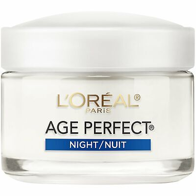 Loreal Age Perfect Night Cream 2.5 Ounce Jar