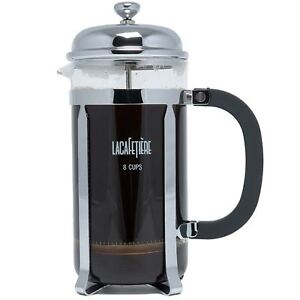 La Cafetiere Optima Large 8-Cup French Press Coffee Tea Maker Filter Plunger