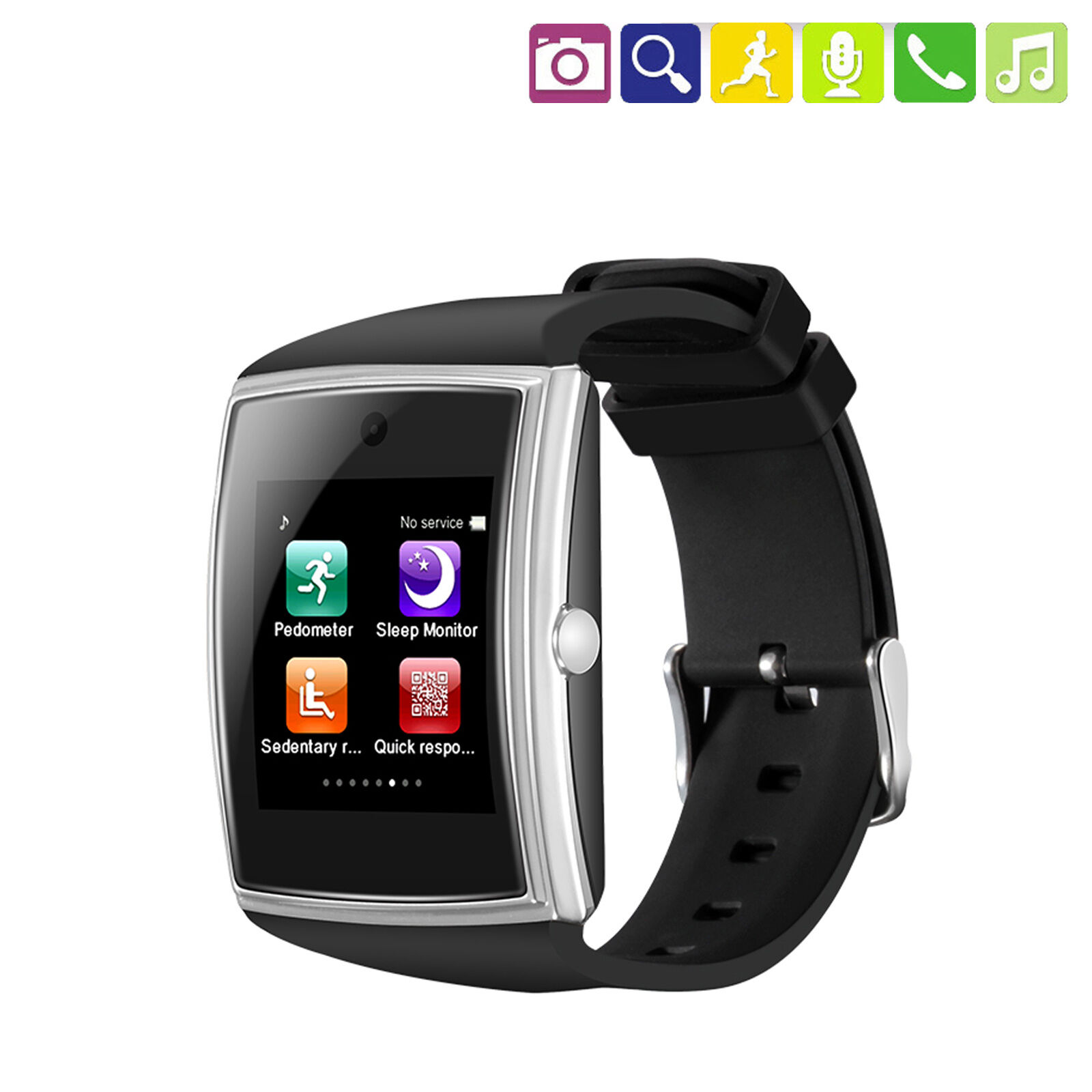 Sports Bluetooth Wrist Smart Watch For Huawei Nova 3 Samsung