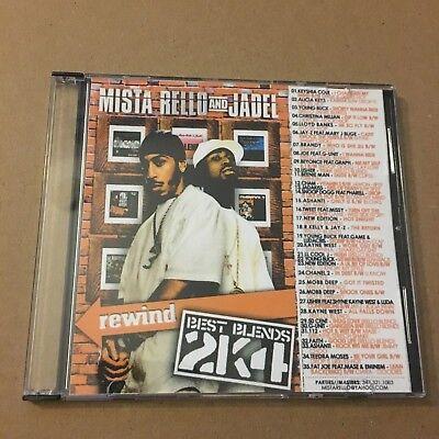 DJ Mistarello Best Blends 2k4 NYC Hip HOp RNB Blends Mix CD