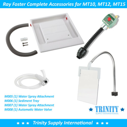 Ray Foster Complete Accessories for Wet Model Trimmer MT10, MT12, MT15 Great NEW