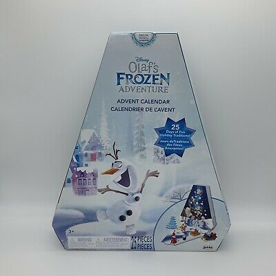 Disney Frozen Advent Calendar Olaf Adventure 25 Surprise Figures Christmas Gift