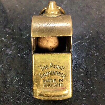 Vtg Memorabilia Phililps Police Washington DC Whistle The Acme Thunderer 1960's