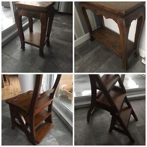Tables en bois - chaises