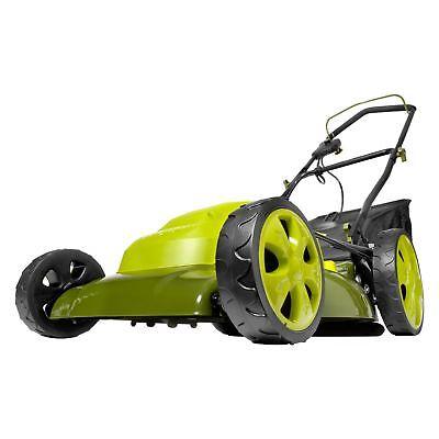 Sun Joe Electric Lawn Mower | 20 inch | 12 Amp | 7-Position Height Adjustment