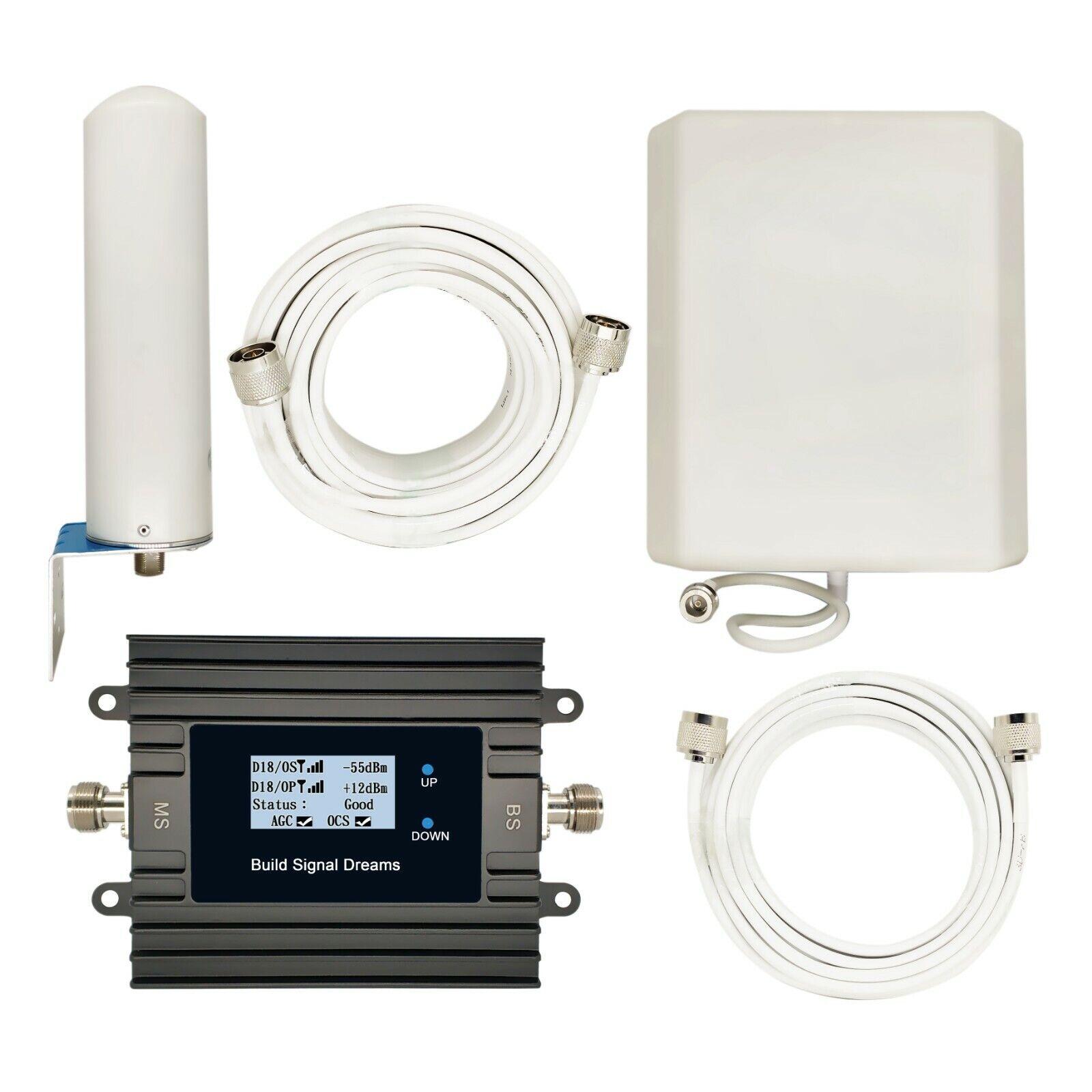 Smart LCD Signal Booster 4G Improve LTE700 Data AT&T Verizon