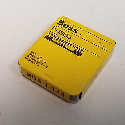 Qty 5 Buss Mda 1-14 Amp Fuse