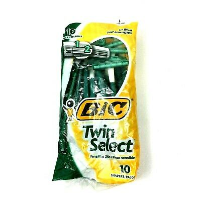 Bic Twin Select Sensitive Skin 10 Shavers Bic Twin Shavers