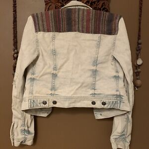 Free People Accented Jean Jacket
