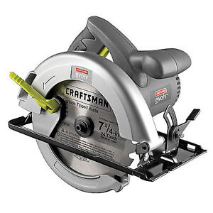 **NEW** Craftsman Evolv 12 amp Corded 7 1/4-in Circular Saw