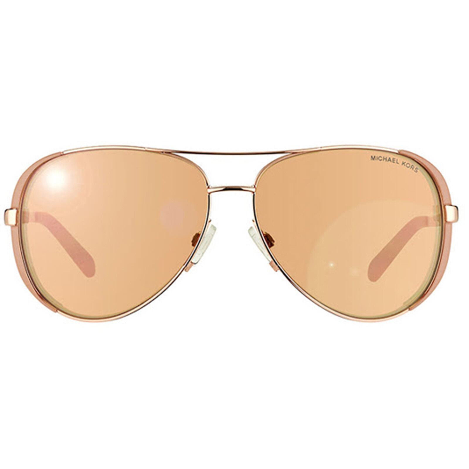ab978f4d24 Michael Kors MK5004 Rose Gold Mirror Taupe Aviator Chelsea S