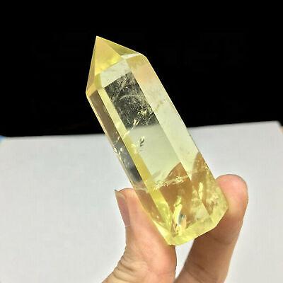 Curación de piedra de obelisco de cuarzo con punta de cristal de...