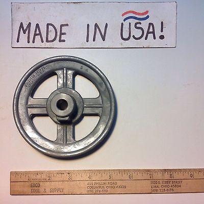 Congress Drives Brand V-belt Pulley 5 X 12 Die Cast Bore Set Screw 5a Usa