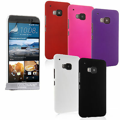 Yousave Accessories For The HTC One M9 Best Hard Tough Fitted Phone Case