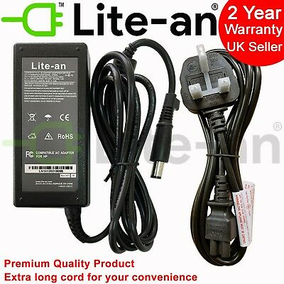 For HP G62 584037-001 Compatible Laptop AC Adapter Charger Power Supply + Cable segunda mano  Embacar hacia Argentina