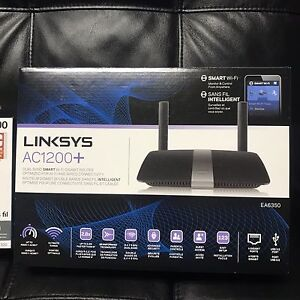 LINKSYS EA6350 AC1200+ WI-FI ROUTER and wifi extender