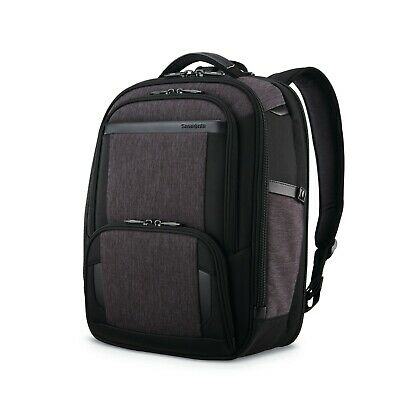 Samsonite Pro Slim Business Laptop Backpack - Shaded Gray/Black