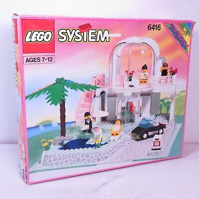 LEGO 6416 Paradisa Poolside Paradise Box with some Legos not Complete