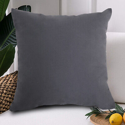 16*16in Lumbar Pillow Decorative Low Back Support for Dark Gray Square Square Decorator Pillow