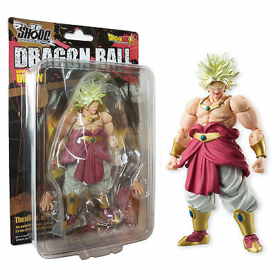 Bandai Shokugan Shodo Vol 5 Dragon Ball Z Super Saiyan Broly Action Figure USA