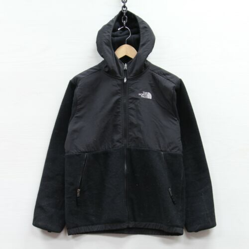 The North Face Denali Fleece Jacket Boys Size XL Black Hooded