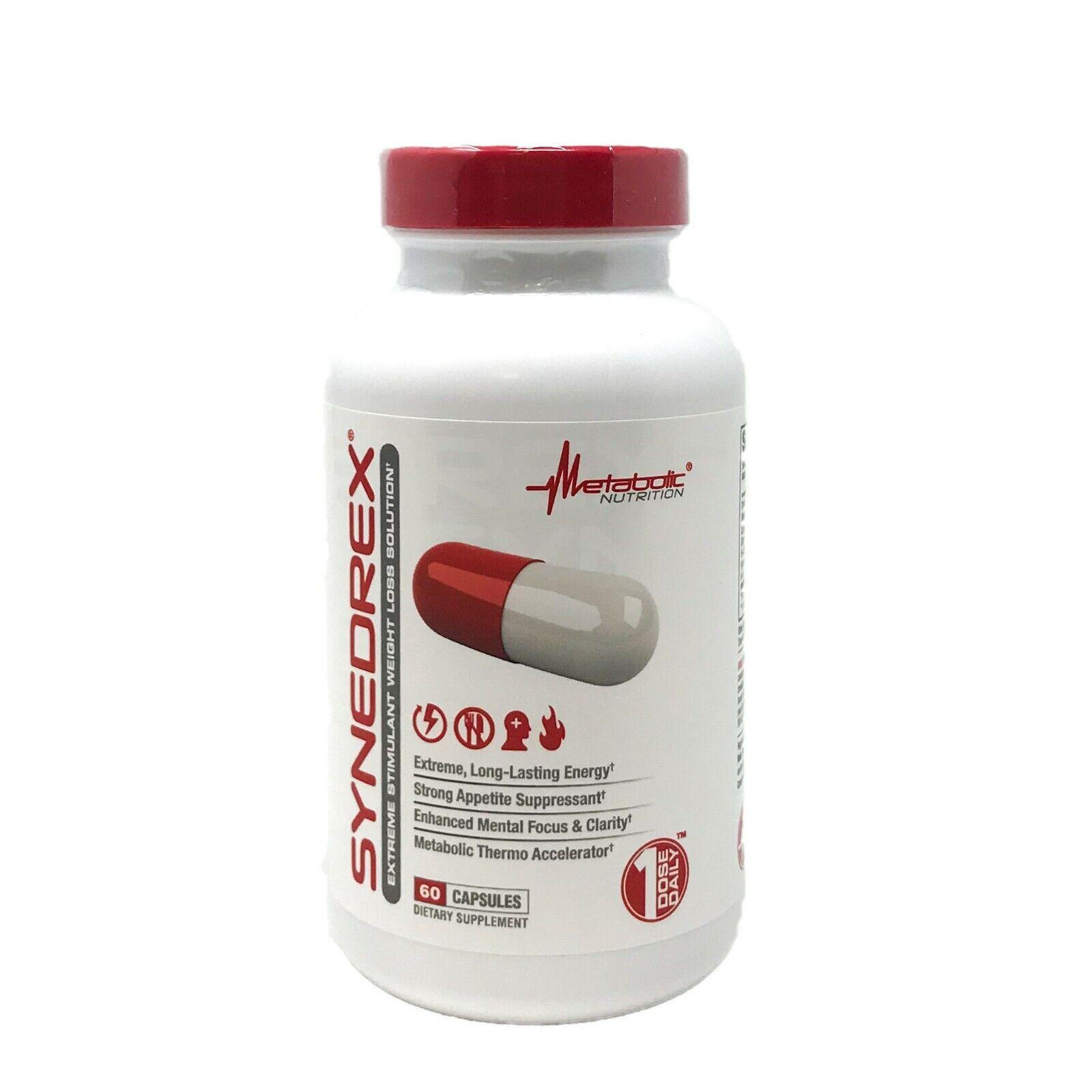 Metabolic Nutrition Synedrex Fat Burner  Weight Loss Supplem