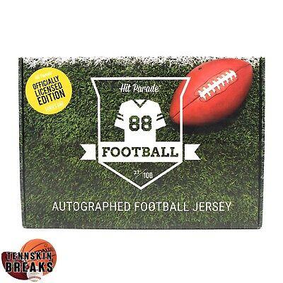 KANSAS CITY CHIEFS 2018 HP Official AUTOGRAPHED Football Jersey 1BOX Break image