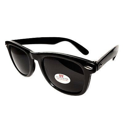 Stylische Sonnenbrille Cool RBW79, Schwarz Gläser extra-dark, Blues Brothers