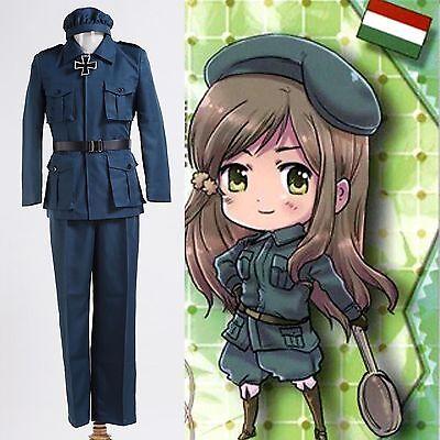 Axis Powers Hetalia Hungary Cosplay Uniform Costume *Custom Made*:Free shipping - Hungary Halloween Costumes