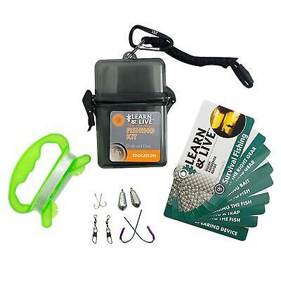 UST WG02765 Learn & Live Kit Fishing w/Carabiner