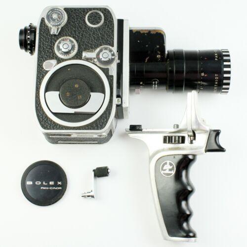 Bolex Zoom Reflex P2 8mm Movie Camera + Som Berthiot f/1.9 9mm-30mm Zoom + More!