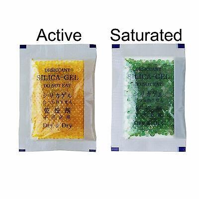 30 Packs5 Gram Dry Dry Premium Orange Indicating Silica Gel Pack-reusable