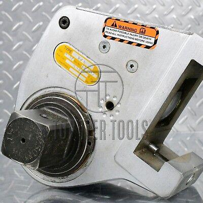 Enerpac Plarad Rv-8 1-12 Drive Hydraulic Torque Wrench Head Link