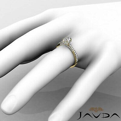 Circa Halo Bridge Accent Oval Diamond Engagement Pave Set Ring GIA F VS1 1.15Ct 11