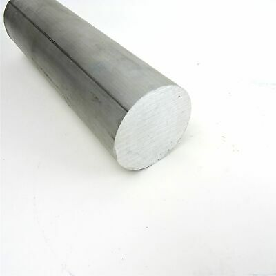2.25 Diameter 6061 Solid Aluminum Round Bar 7.5 Long Lathe Stock Sku 199631