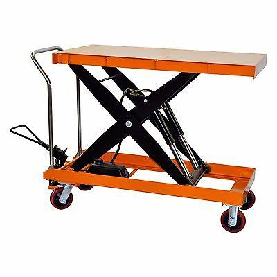 Bolton Tools Hydraulic Scissor Lift Table Cart 2200 Lbs Tf100d
