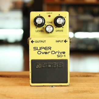 VINTAGE BOSS SD-1 SUPER OVER DRIVE