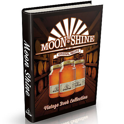 Distilling Books 179 Old Books on DVD Vintage Homebrew Moonshine Whisky Brewing