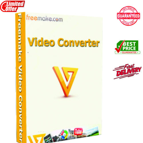 Freemake Video Converter Gold ✔ Lifetime License Key 🔥 5 Sec inbox Delivery 📩
