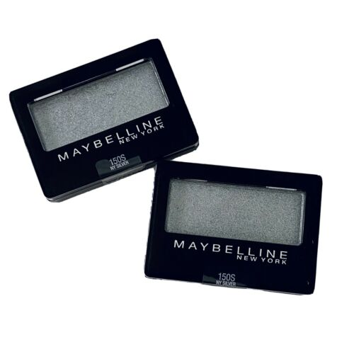 Maybelline Expert Wear Eyeshadow, NY Silver, 0.08 oz.