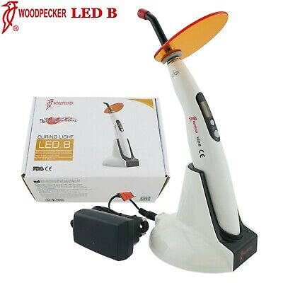 100 Woodpecker Curing Light Dental Lamp Wireless 5 Second Cure 1400mw Led B
