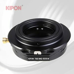 Kipon-Tilt-Shift-Adapter-for-M42-Lens-to-Canon-EOS-M-EF-M-Mirrorless-Camera
