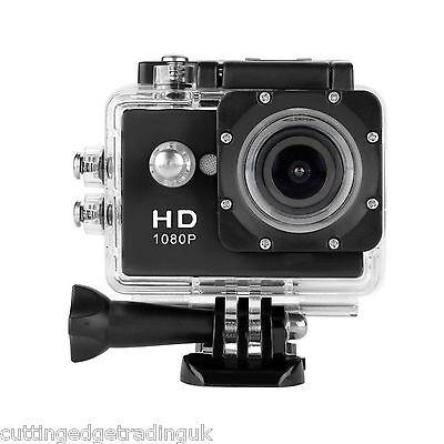 1080p Action Sport Bike Cam Camera Waterproof HD Video Helmetcam A9 DV Black UK
