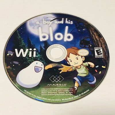 A Boy and His Blob (Nintendo Wii, 2009) Disc Only