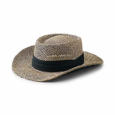 San Diego Hat Company/Mens Collection/seagrass gambler - N/A One Size Fits Most Seagrass Gambler Hat